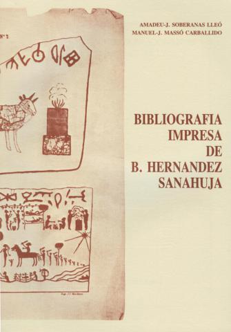 Bibliografia impresa de Bonaventura Hernández Sanahuja