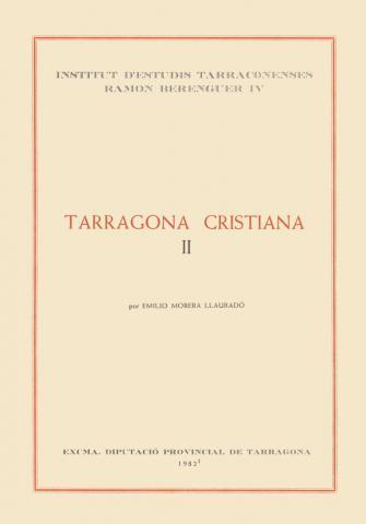 Tarragona Cristiana (Tom II) [2 volums]