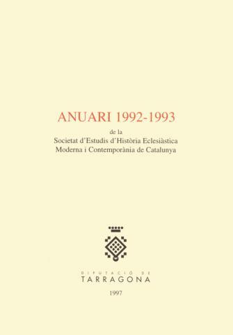 Anuari 1992-1993