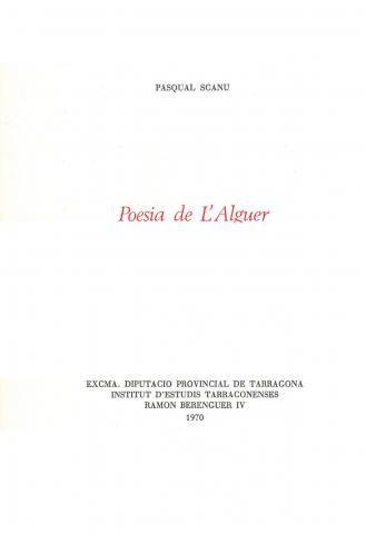 Poesia de l'Alguer