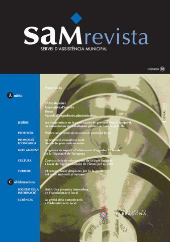 SAM revista: Servei d'Assistència Municipal 10