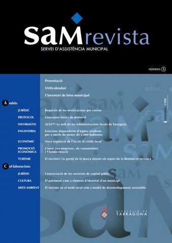 SAM revista: Servei d'Assistència Municipal 5