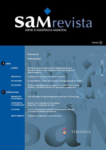 SAM revista: Servei d'Assistència Municipal 6