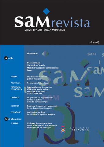 SAM revista: Servei d'Assistència Municipal núm. 9