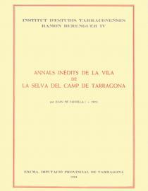 Annals inèdits de la vila de la Selva del Camp de Tarragona