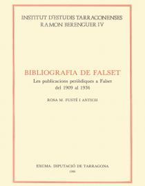Bibliografia de Falset. Les publicacions periòdiques a Falset del 1900 al 1936