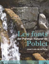 Les fonts del Paratge Natural de Poblet