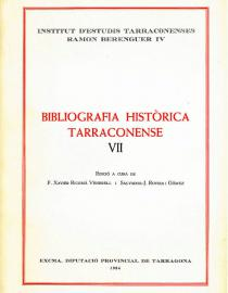 Bibliografia Històrica Tarraconense VII