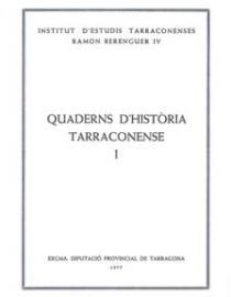 Quaderns d'Història Tarraconense I
