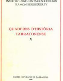Quaderns d'Història Tarraconense X
