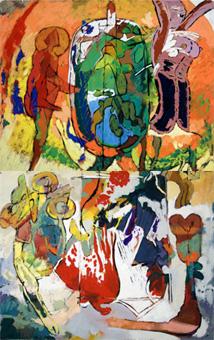 Panel de Pantocrator | Moret Arbex, Luis
