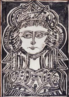 Cap de dona | Carreté Móra, Ramon