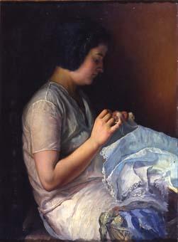 Noia cosint   Sancho Piqué, Josep