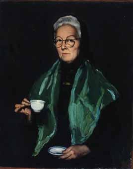 Dona amb el seu cafè | Lahosa Valimaña, Joan