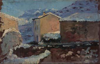 Paisatge nevat | Sancho Piqué, Josep