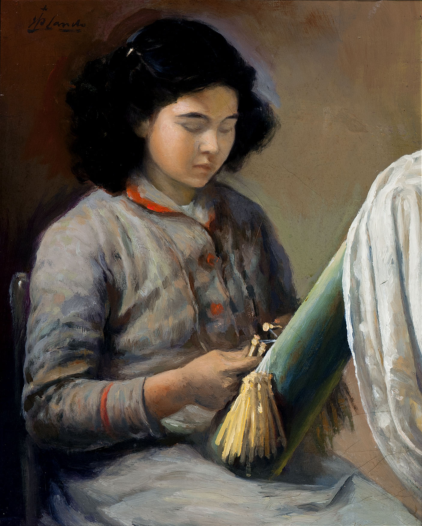 Fent punta de coixí | Sancho Piqué, Josep