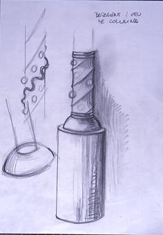 Basament i peu de columna | Borrás Fà, Jordi