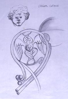 L'àngel custodi | Borrás Fà, Jordi