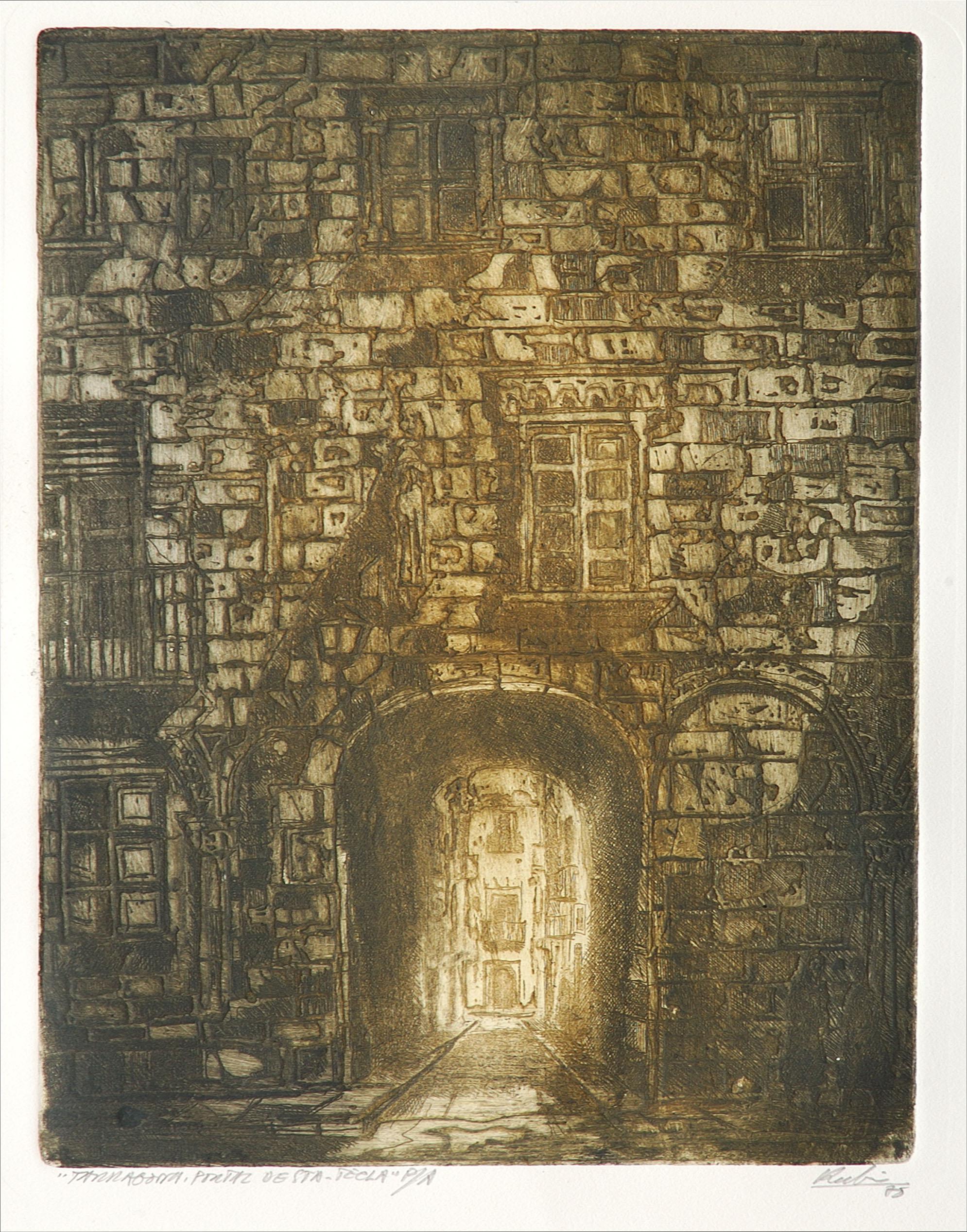Portal de Santa Tecla | Rubio Martínez, Mariano