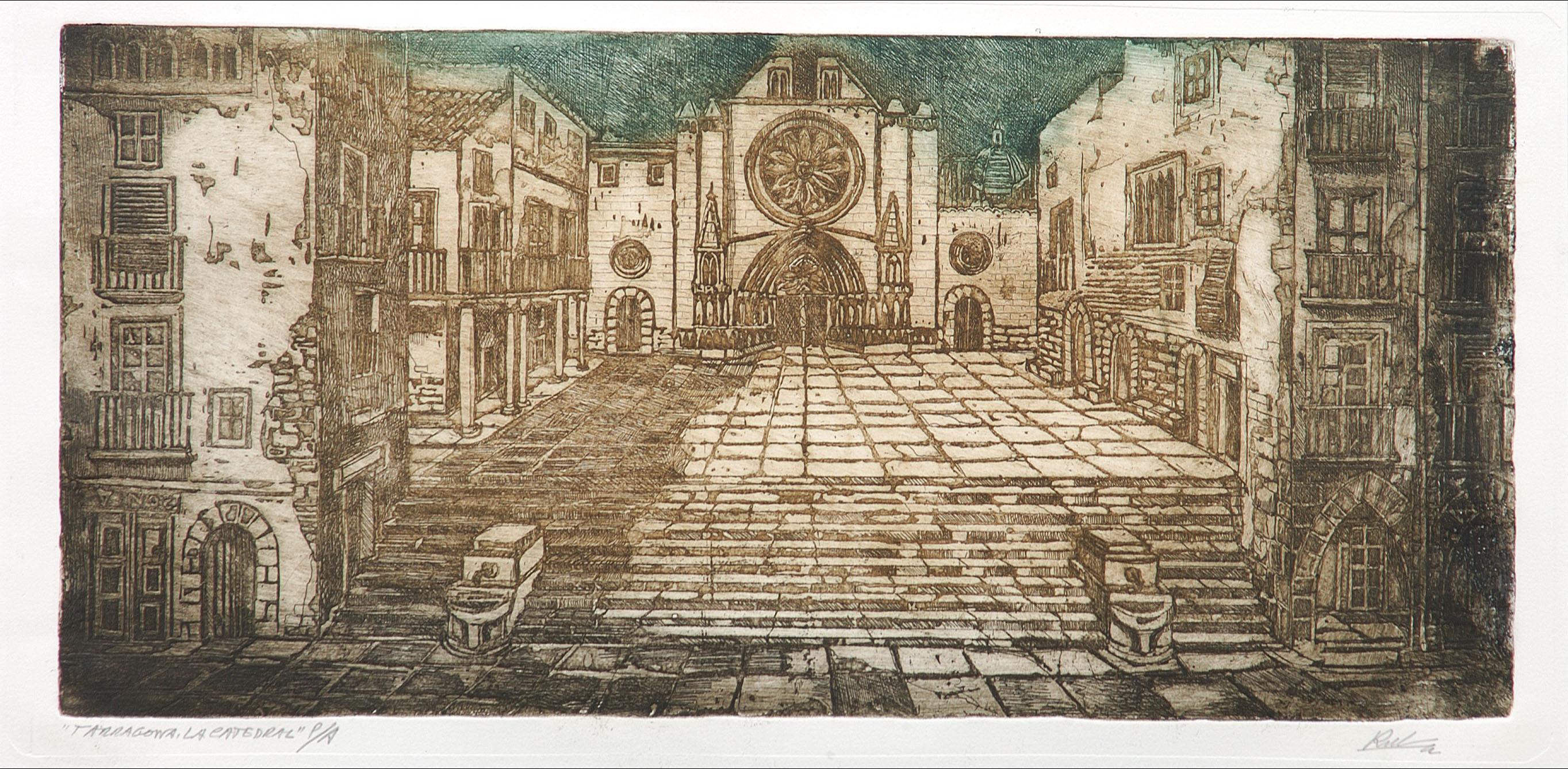 Pla de la Catedral | Rubio Martínez, Mariano