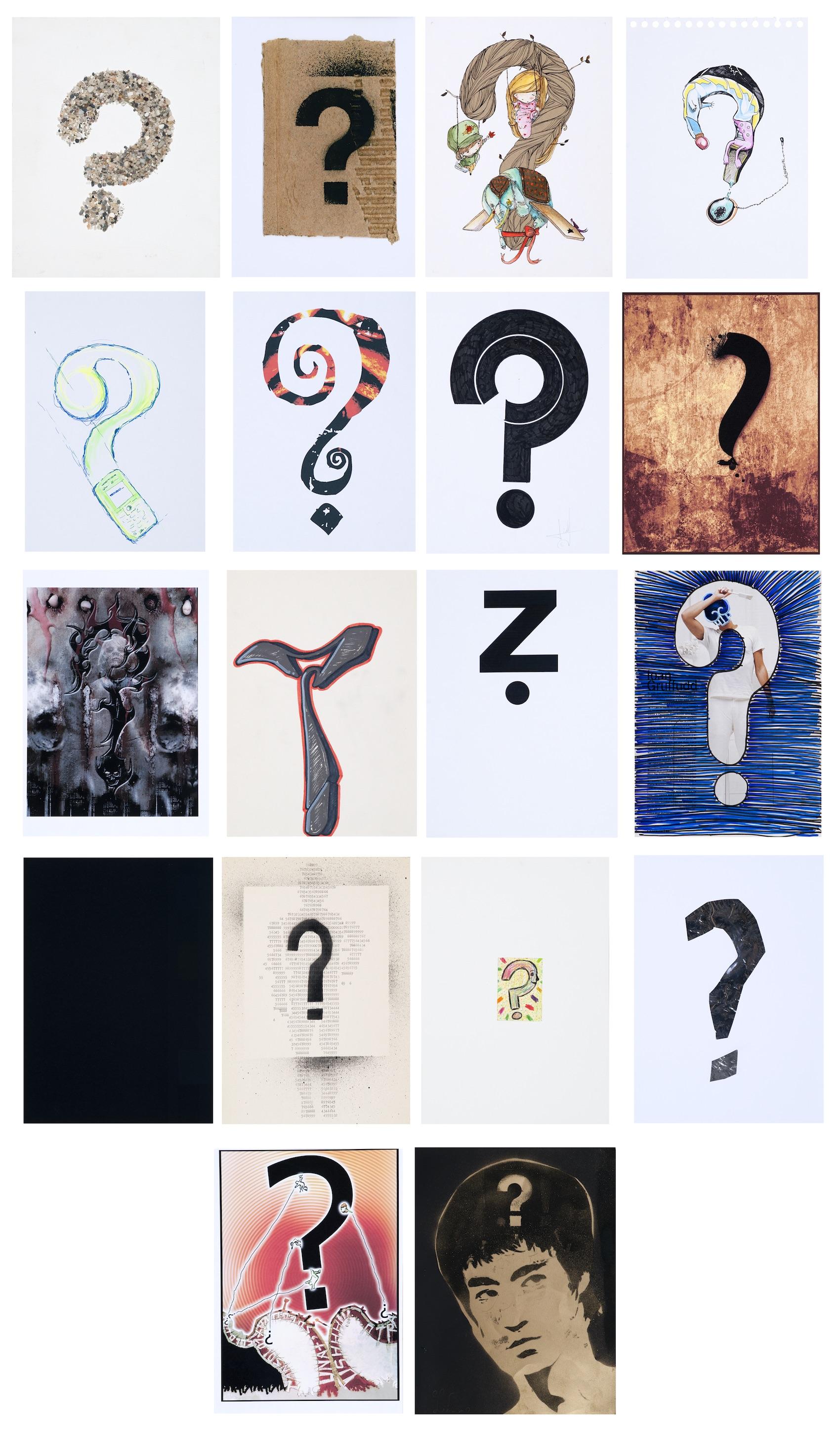 Cadavre & Grafit-Signe Interrogant | Gallus (Llort Figuerola, Jordi)