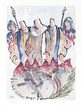 Passió dels Promàrtis de Tàrraco | Màrius-Arts (Masip, Màrius)