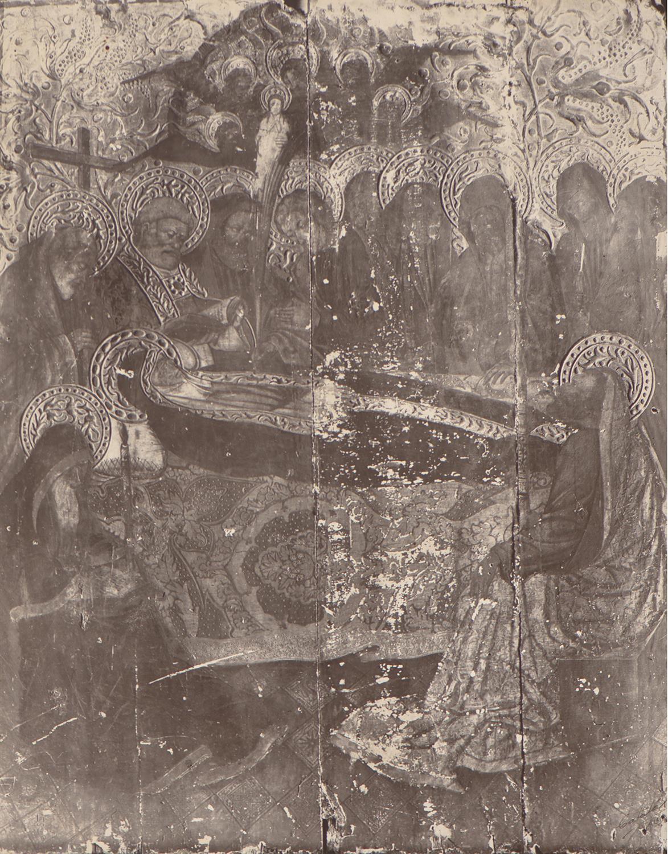 Alcover. Església la Sang. Taula de la Mort de la Verge | Català i Pic, Pere