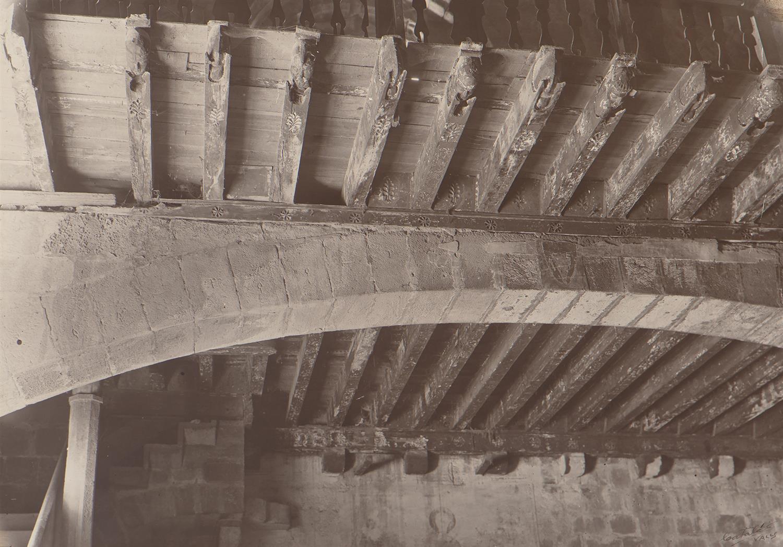Alcover. Església la Sang. Vigues del Chor | Català i Pic, Pere
