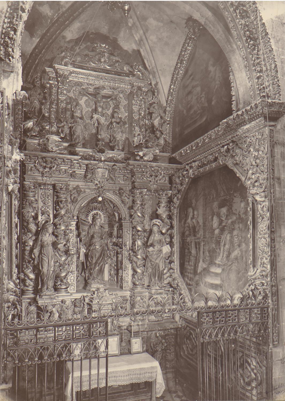 Valls. Església de Sant Joan. Altar de Santa Ürsula | Català i Pic, Pere