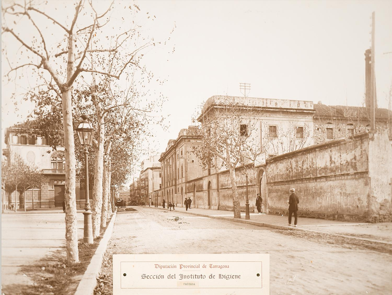 Tarragona. Institut d'Higiene. Façana | Vallvé Vilallonga, Hermenegild