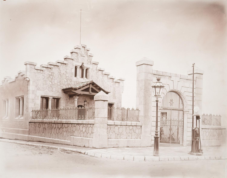Tarragona. Institut d'Higiene. Entrada principal | Vallvé Vilallonga, Hermenegild