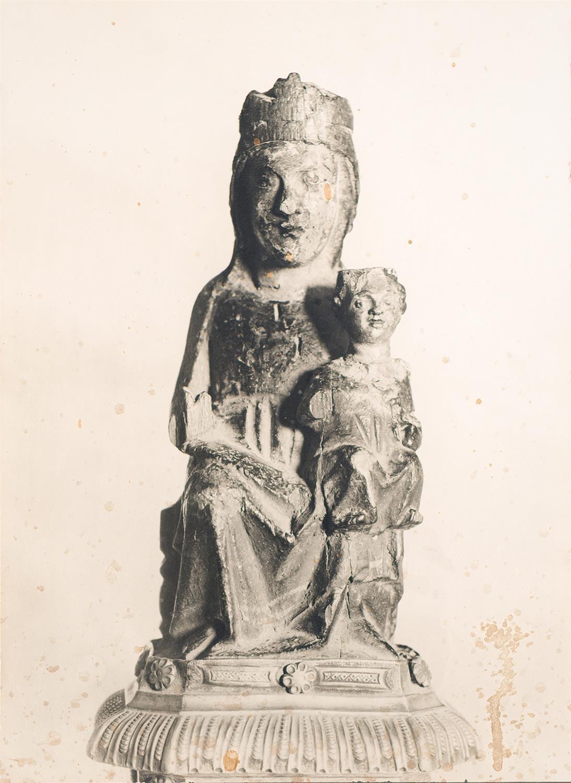 Tortosa. Nostra Senyora de l'Aldea (nua) | Borrell i Codorniu, Ramon (Tortosa, 1869 - 1948)