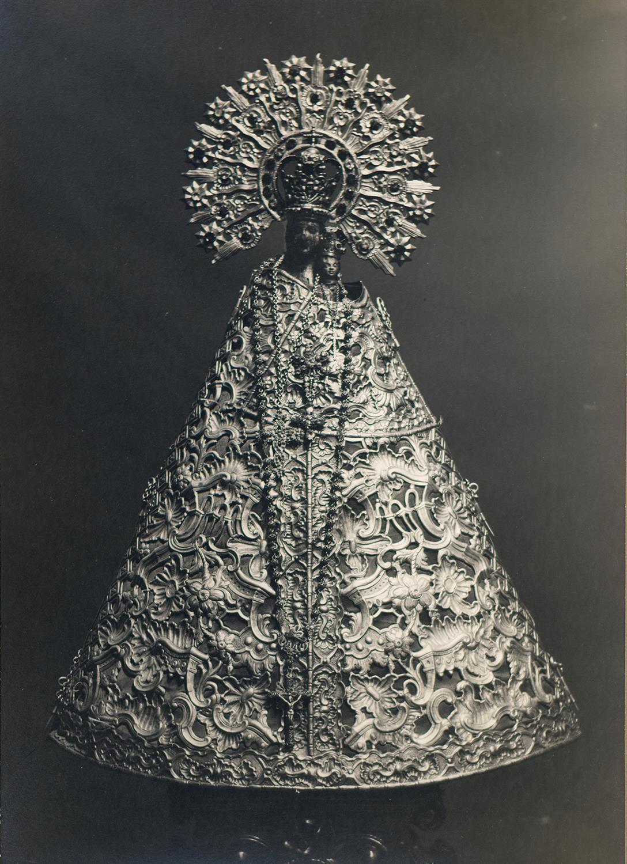 Tortosa. Nostra Senyora de l'Aldea (vestida de plata) | Borrell i Codorniu, Ramon (Tortosa, 1869 - 1948)