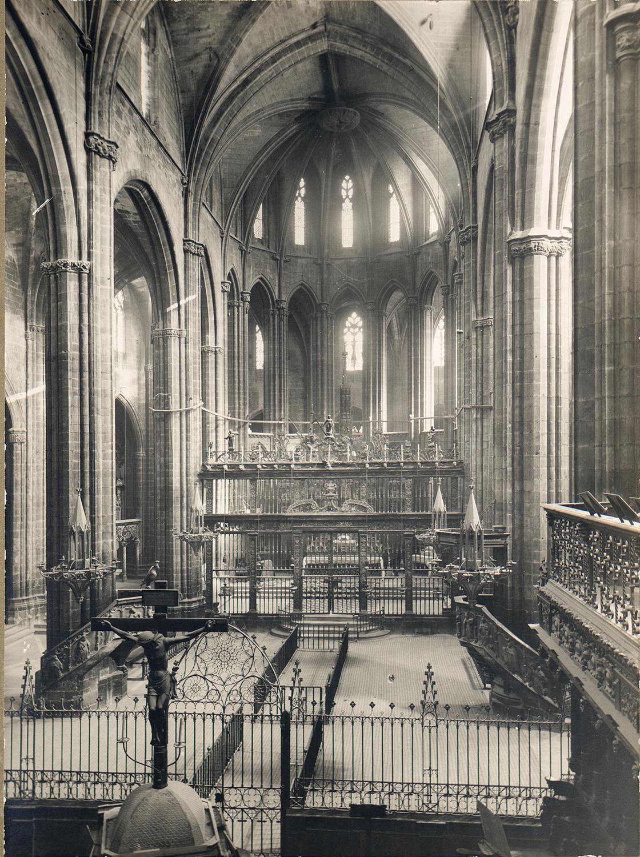 Tortosa. Catedral. Absis | Borrell i Codorniu, Ramon (Tortosa, 1869 - 1948)