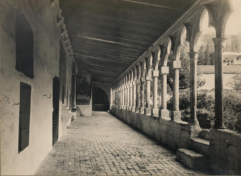 Tortosa. Convent de Santa Clara. Claustre | Borrell i Codorniu, Ramon (Tortosa, 1869 - 1948)
