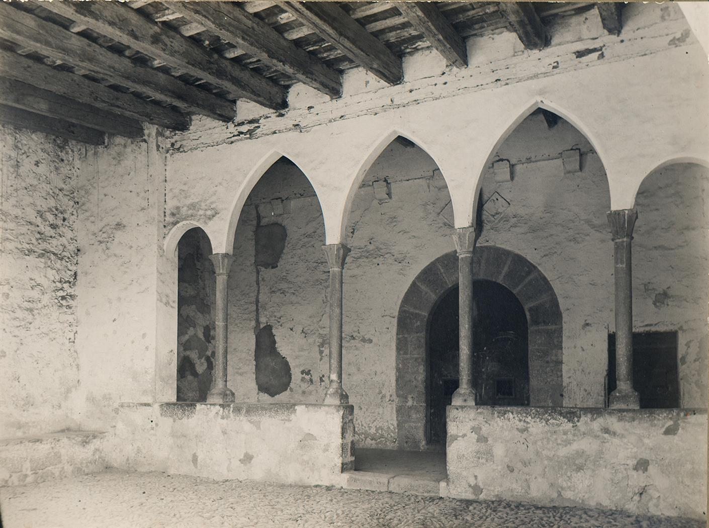 Tortosa. Ermita del Coll de l'Alba. Atri | Borrell i Codorniu, Ramon (Tortosa, 1869 - 1948)