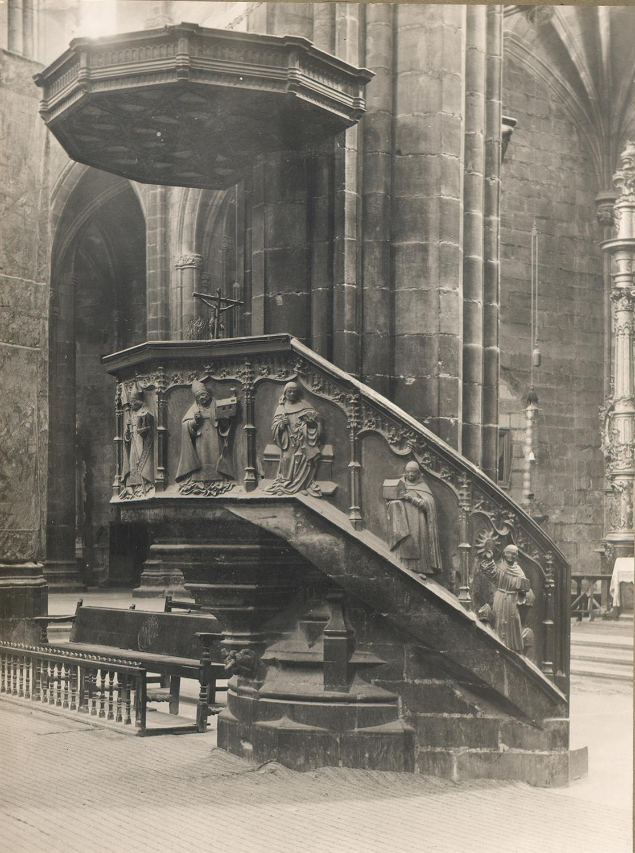 Tortosa. Catedral. Púlpit   Borrell i Codorniu, Ramon (Tortosa, 1869 - 1948)