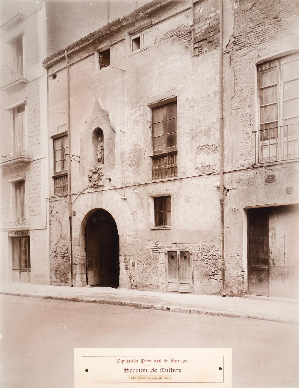 Reus. Casa de Santa Llúcia   Vallvé Vilallonga, Hermenegild