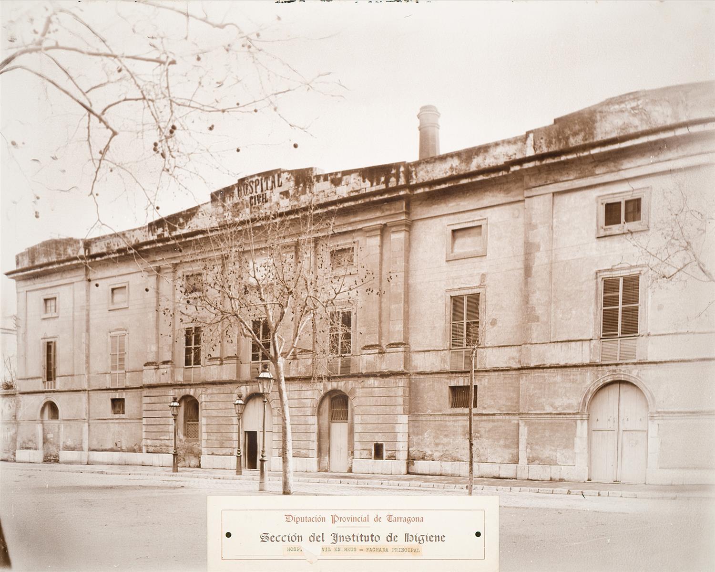 Reus. Hospital Civil. Façana principal   Vallvé Vilallonga, Hermenegild