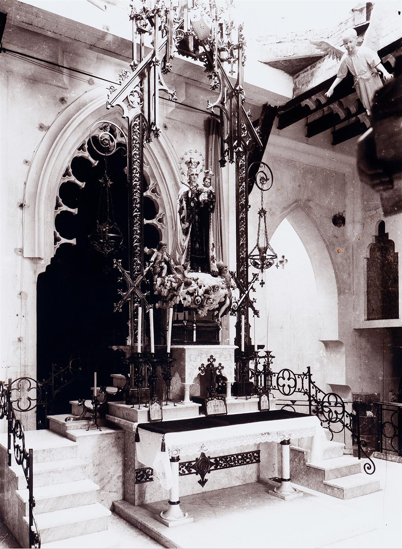 Tarragona. El cambril de l'Església del Carme de Josep M.Jujol | Vallvé Vilallonga, Hermenegild