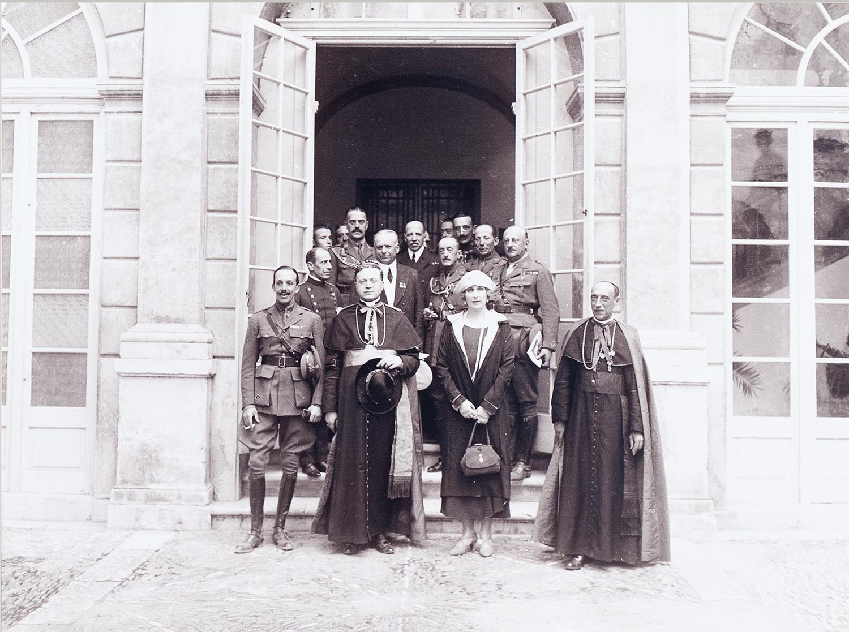 Tarragona. Visita del rei Alfonso XIII   Vallvé Vilallonga, Hermenegild