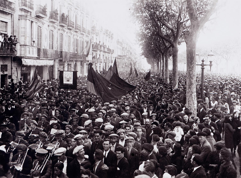 Primer aniversari de la proclamació de la Segona República | Vallvé Vilallonga, Hermenegild