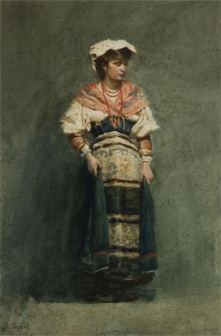 Noia italiana | Tapiró Baró, Josep