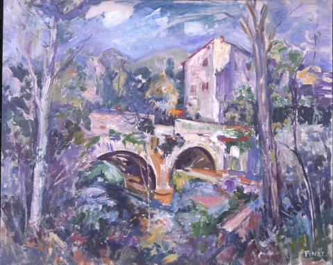 Pont antic | Pinet Pàmies, Enric