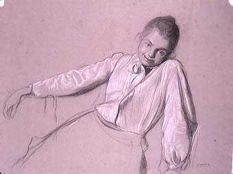 Figura femenina | Sancho Piqué, Josep