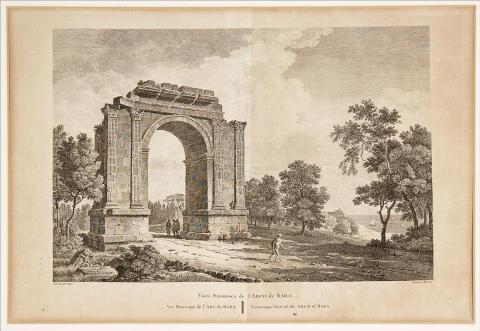 Vista pintoresca del Arco de Barà | Ligier, François