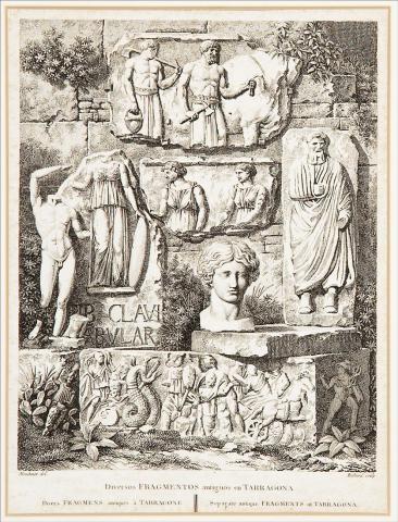 Diversos fragmentos antiguos en Tarragona | Moulinier, Jacques