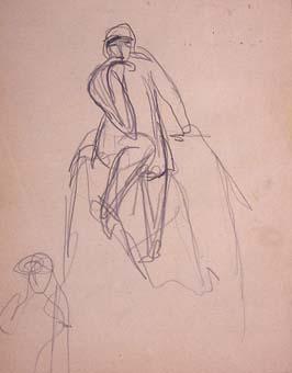 Esbós de monument a Wagner. Croquis-12 | Julio Antonio (Rodríguez Hernández, Julio Antonio)