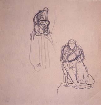 Esbós de monument a Wagner. Croquis-15 | Julio Antonio (Rodríguez Hernández, Julio Antonio)