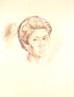 Retrat femení | Ripoll, M.Teresa i Sahagún